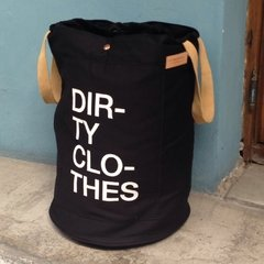 Canasto Dirty Clothes Negro