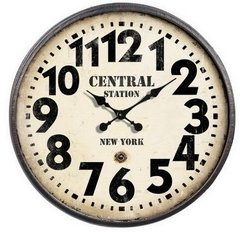 Reloj Metal Central Station 0.80 mts.