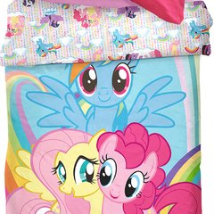 Acolchado Disney Piñata 1 Plaza Diseño My Little Pony