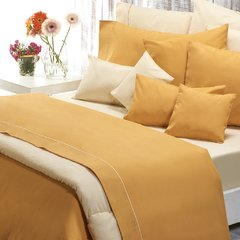 Sabana Danubio Colors 2 Plazas 200 Hilos Color Golden Apricot