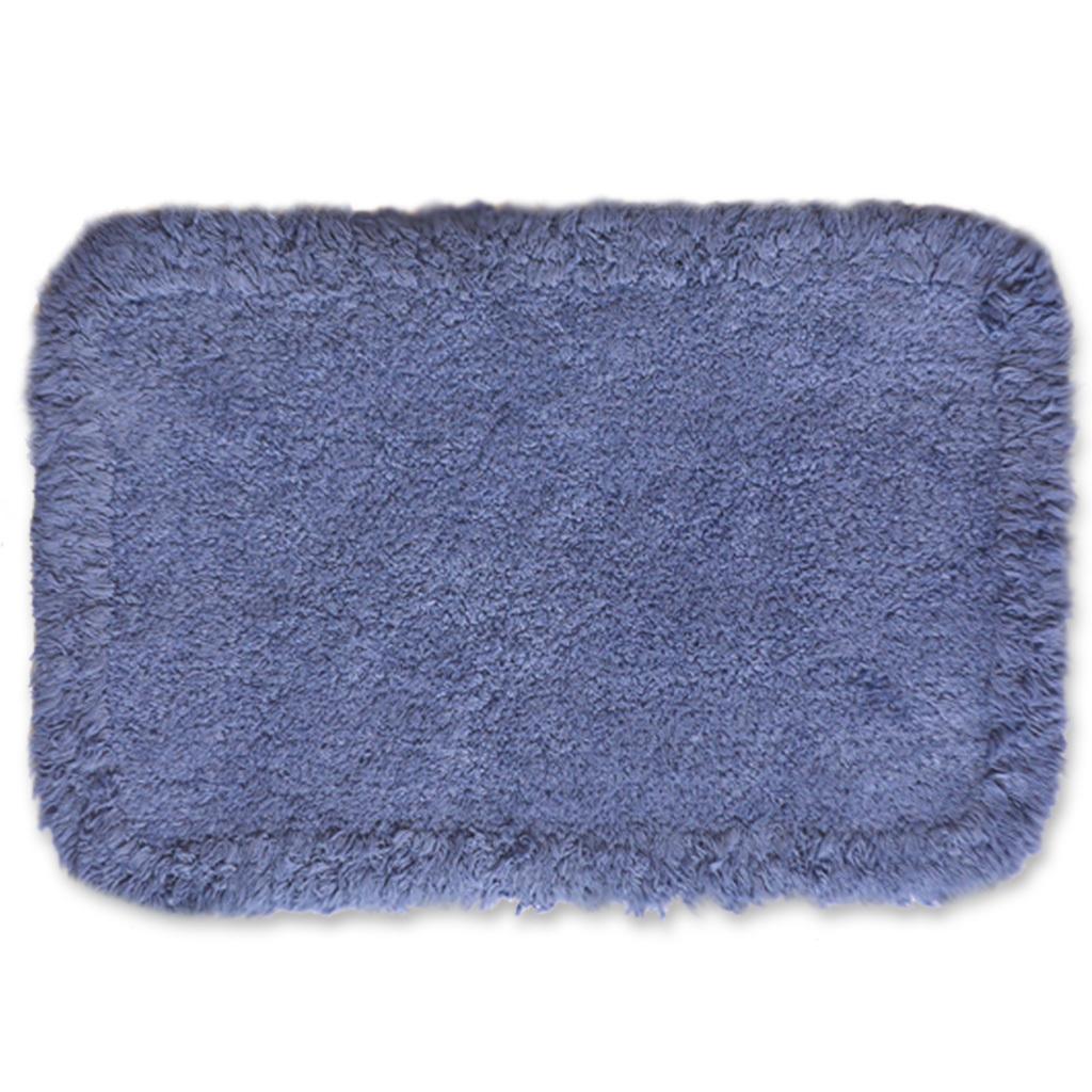 Alfombra ba o azul dise o casa dise o - Alfombras para bano ...