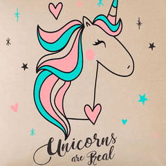 Funda de Almohadon 40x40 VH Fabrics Diseño Unicorns are Real