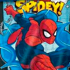Cover Quilt Disney Piñata 1 Plaza Diseño Spiderman