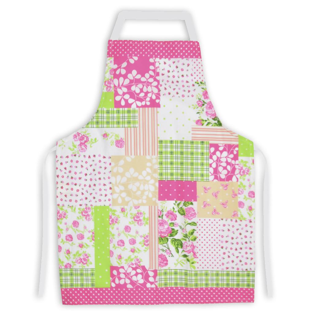 Delantal de cocina vh fabrics algodon dise o patchwork for Delantales de cocina