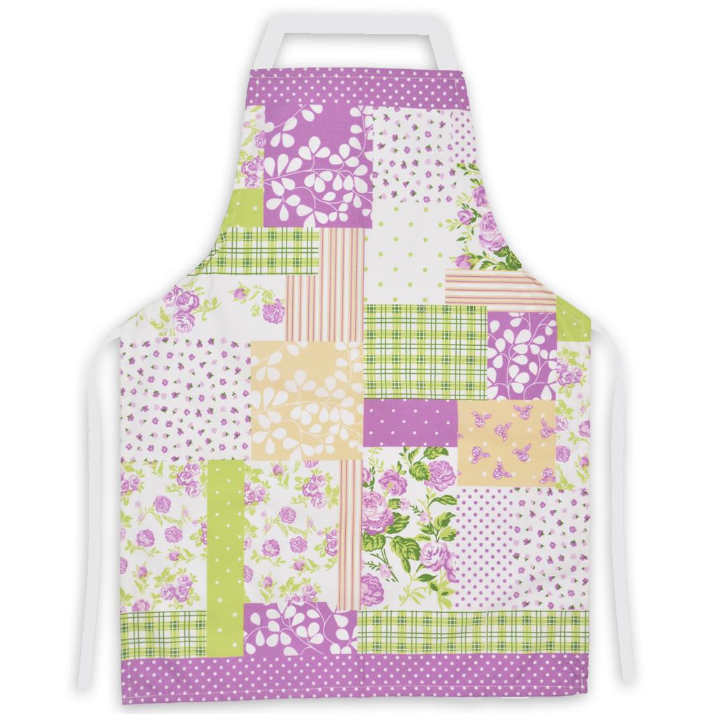 Delantal de cocina vh fabrics algodon dise o patchwork - Patchwork para cocina ...