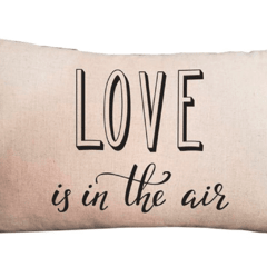Funda de Almohadon 30x60 VH Fabrics Diseño Love is in the Air