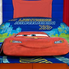 Frazada Disney Piñata Flannel Fleece 1 Plaza Diseño Cars