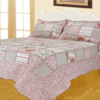 Quilt Patchwork Liberty Queen Size Diseño Madrid