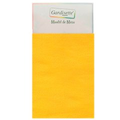 Mantel Gabardina Liso Rectangular 2,50 mts Color Maiz