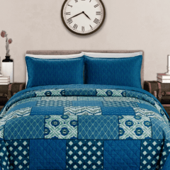 Quilt Kavanagh King Size Diseño Native
