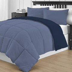 Acolchado Simil Plumon Reversible King Size Kavanagh