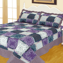 Quilt Patchwork Liberty Twin Diseño Toronto