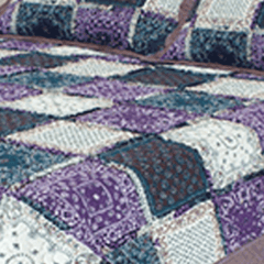 Quilt Patchwork Liberty King Size Diseño Toronto