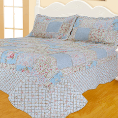 Quilt Patchwork Liberty King Size Diseño Valencia