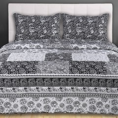 Quilt Kavanagh 1 Plaza Diseño Black and White