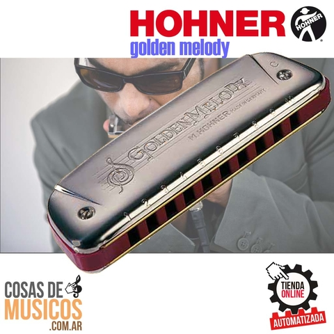 Armonica Hohner Golden Melody