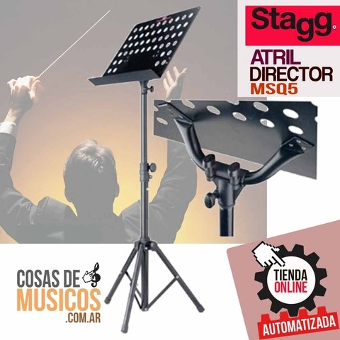 Atril p/director marca STAGG MSQ5
