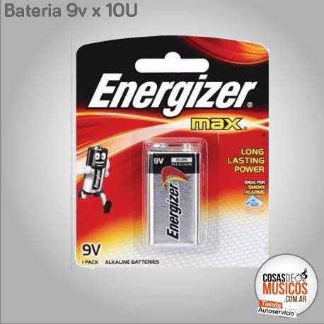 Pack Baterias Energizer x 10 Unidades