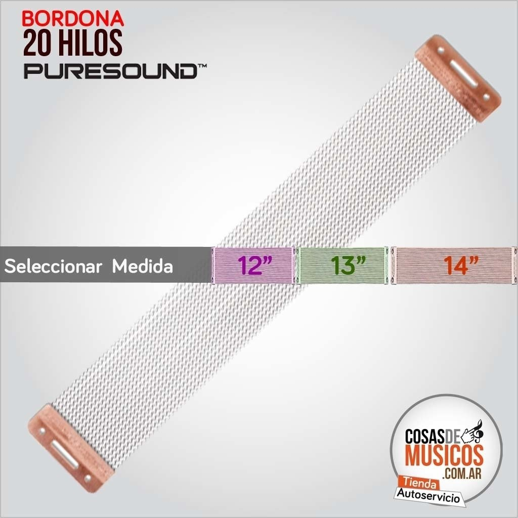 BORDONAS PURESOUND BLASTER 20 hilos x MEDIDA