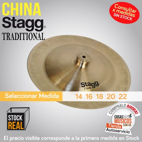 China Stagg Traditional x Medida