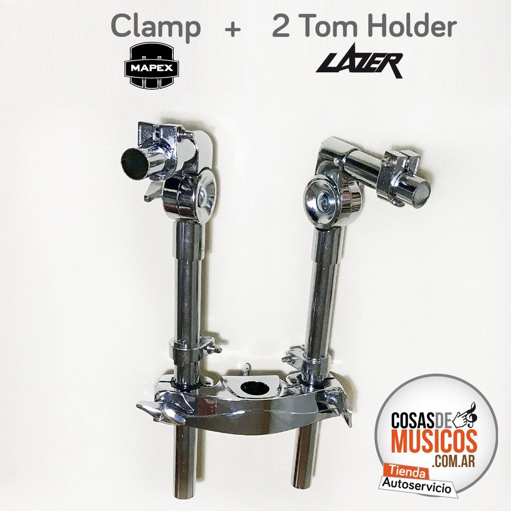 Clamp + 2 Tom Holder