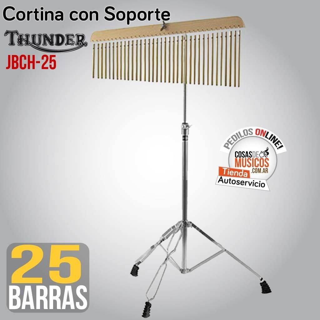 Barchime  Cortina con Soporte Thunder JBCH-25