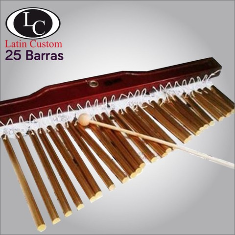 Barchime  Cortina Latin Custom 25 barras