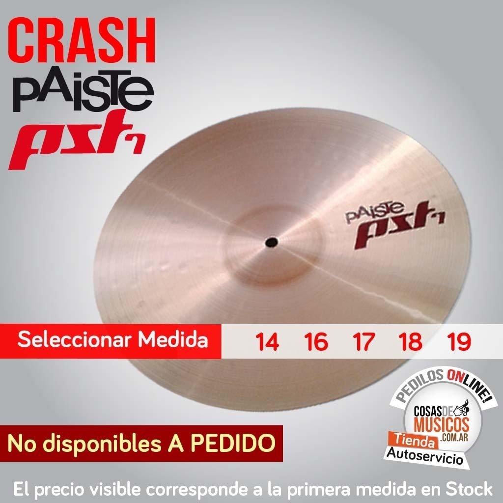 Crash PAISTE PST7 Precio x Medida