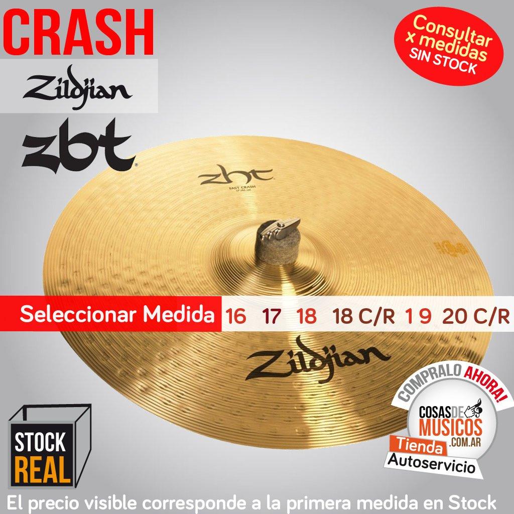 Crash Zildjian ZBT Precio x Medida