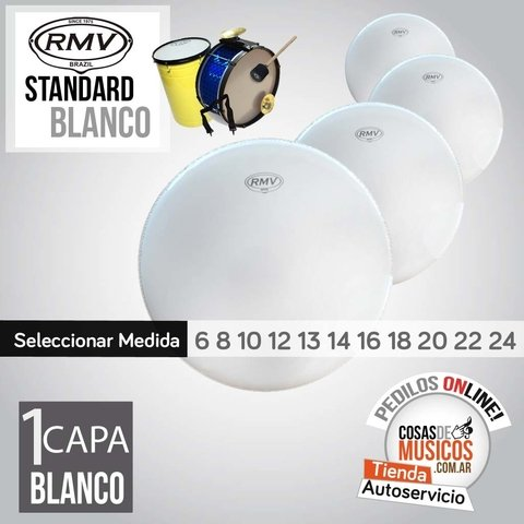 Parches RMV Standard Blanco