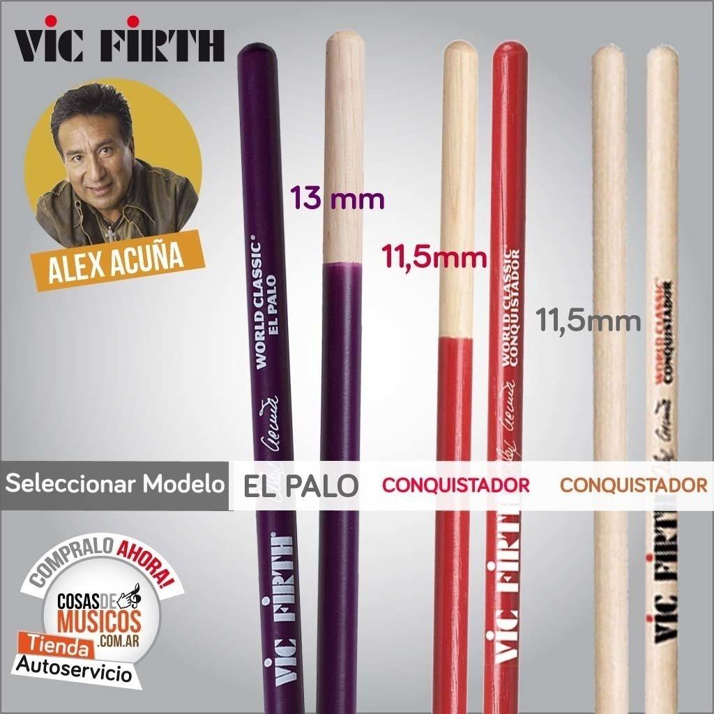 Vic Firth Alex Acuña Precio x Modelo