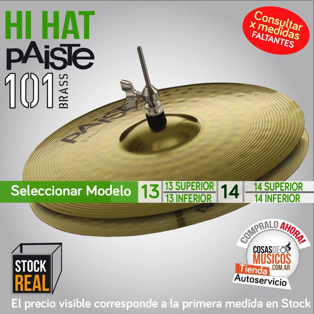 Hi Hat Paiste 101 Precio x Modelo