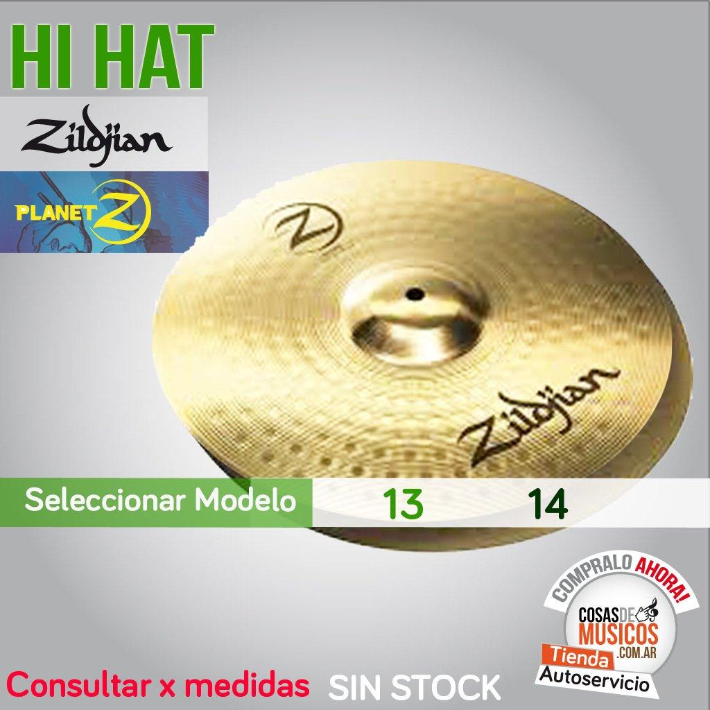 Hi Hat Zildjian Planet Z Precio x Medida