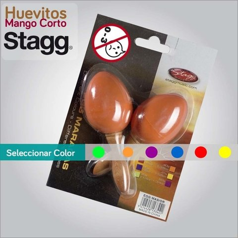HUEVITOS STAGG MANGO CORTO x COLOR
