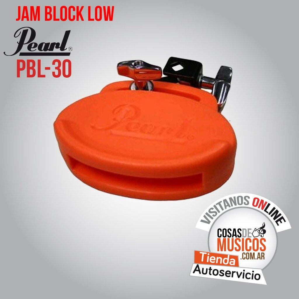 Jam Block Pearl Low ROJO PBL-30