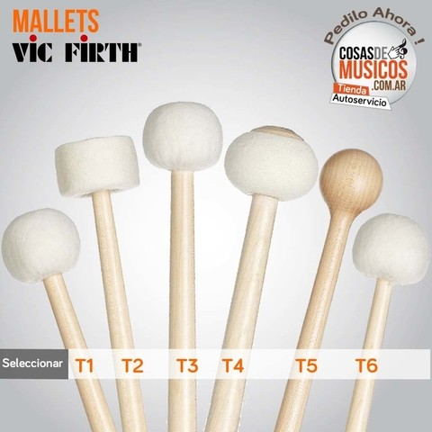Mazos Mallets Vic Firth x Medida