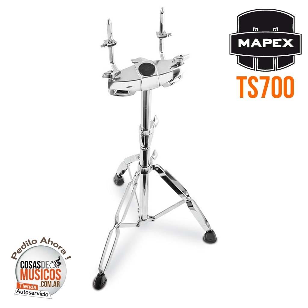 Tom Holder de pie Mapex TS700