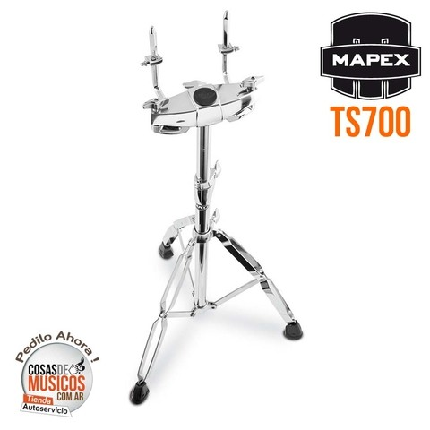 Tom Holder de pie Mapex TS700
