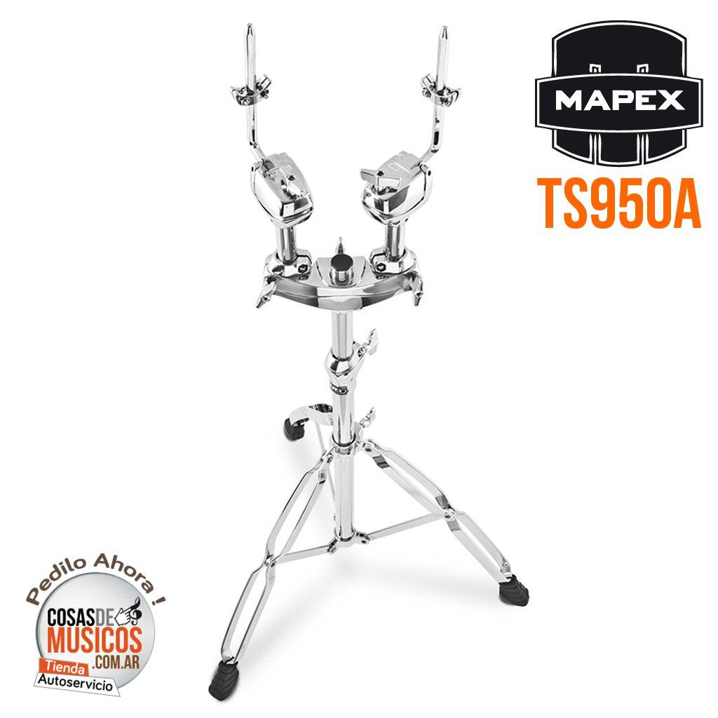 Tom Holder de pie Mapex TS950A