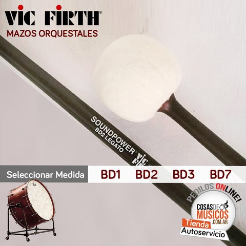 Mazo Vic Firth SoundPower Precio x Medida