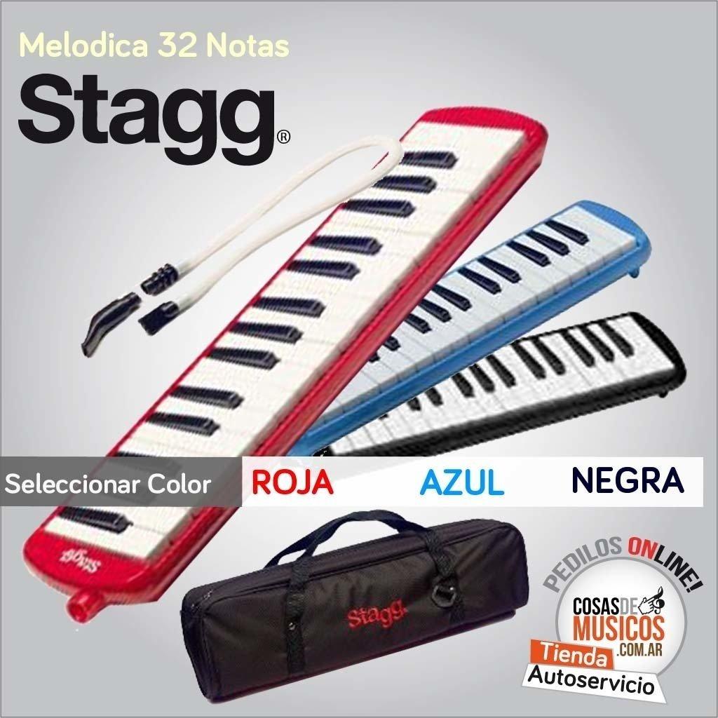 Melodica Stagg  con estuche
