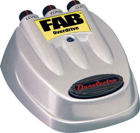 Pedal Danelectro FAB D2 Overdrive