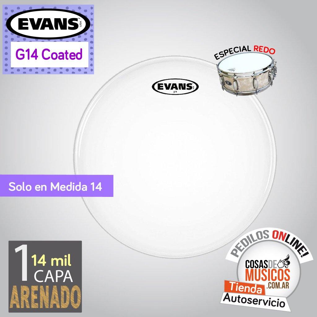 Parche Evans G14 de 14