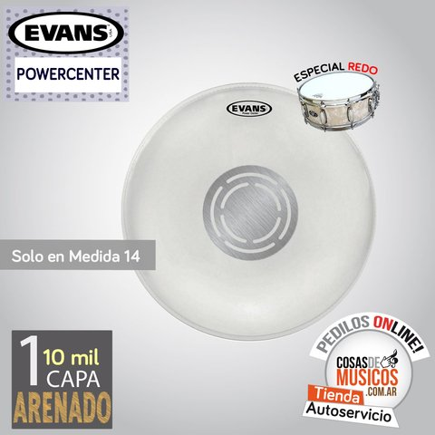 Parche Evans Power Center de 14
