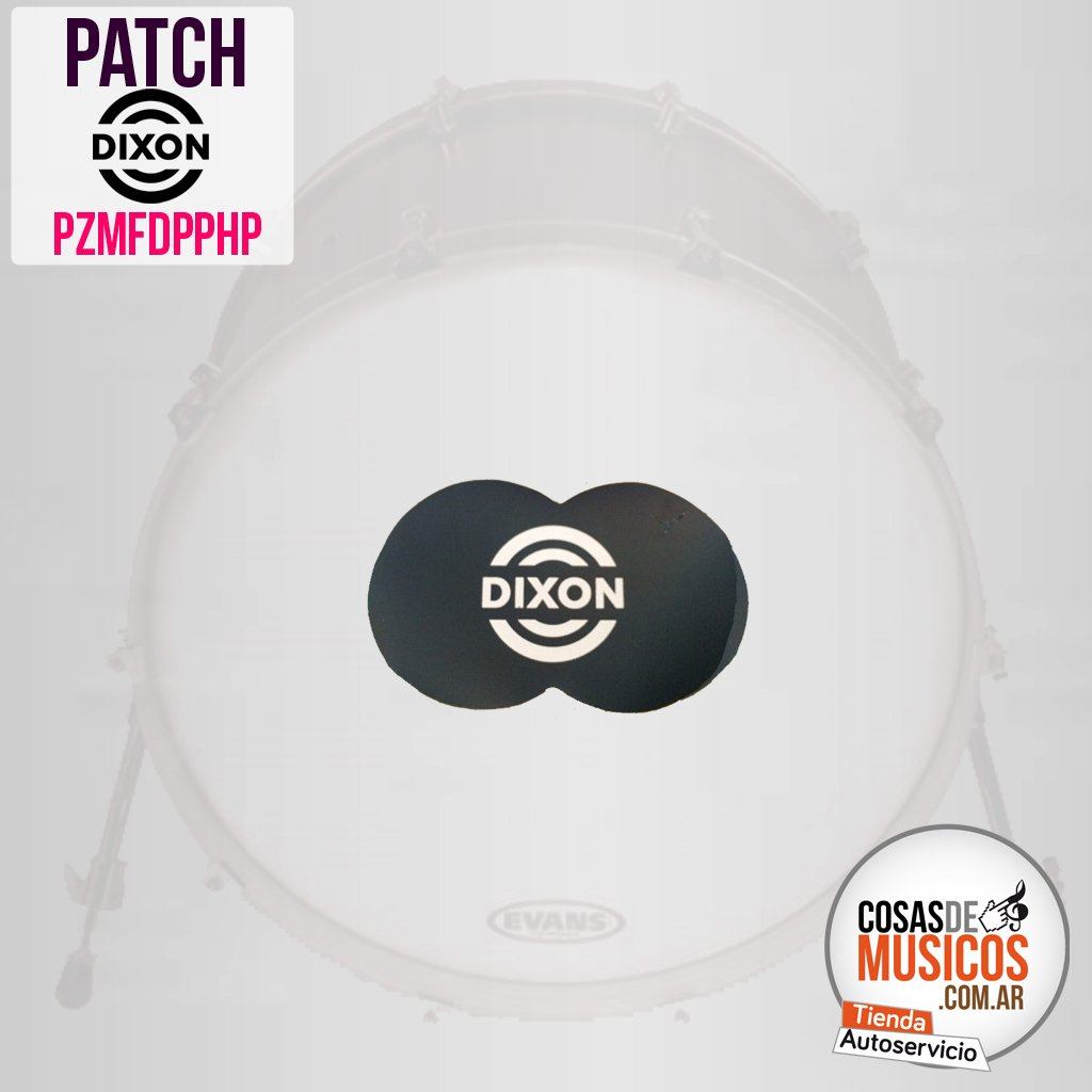 Patch Protector doble Bombo Dixon PZMFDPPHP