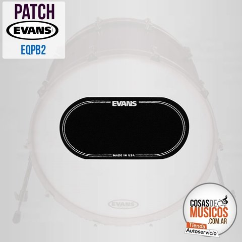Patch Protector doble Bombo x 2 EVANS EQPB2