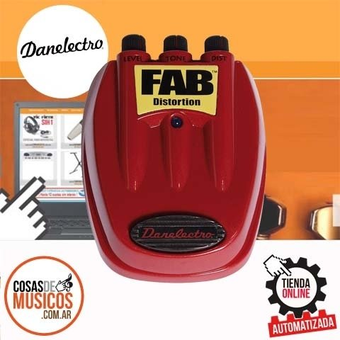 Pedal Danelectro FAB D-1 Distorsion
