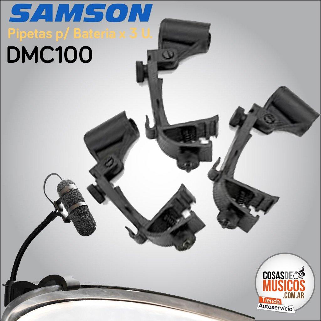 Pipetas Samson DMC100 x 3 U.