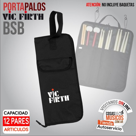 Portabaquetas VIC FIRTH Basic Stick Bag BSB