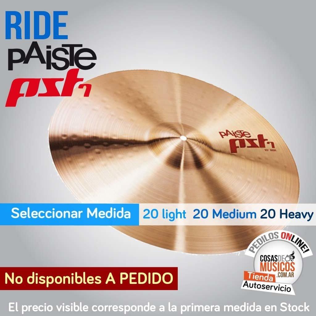 Ride Paiste PST 7 x Modelo